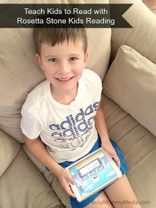 Teach Kids to Read with Rosetta Stone Kids Reading