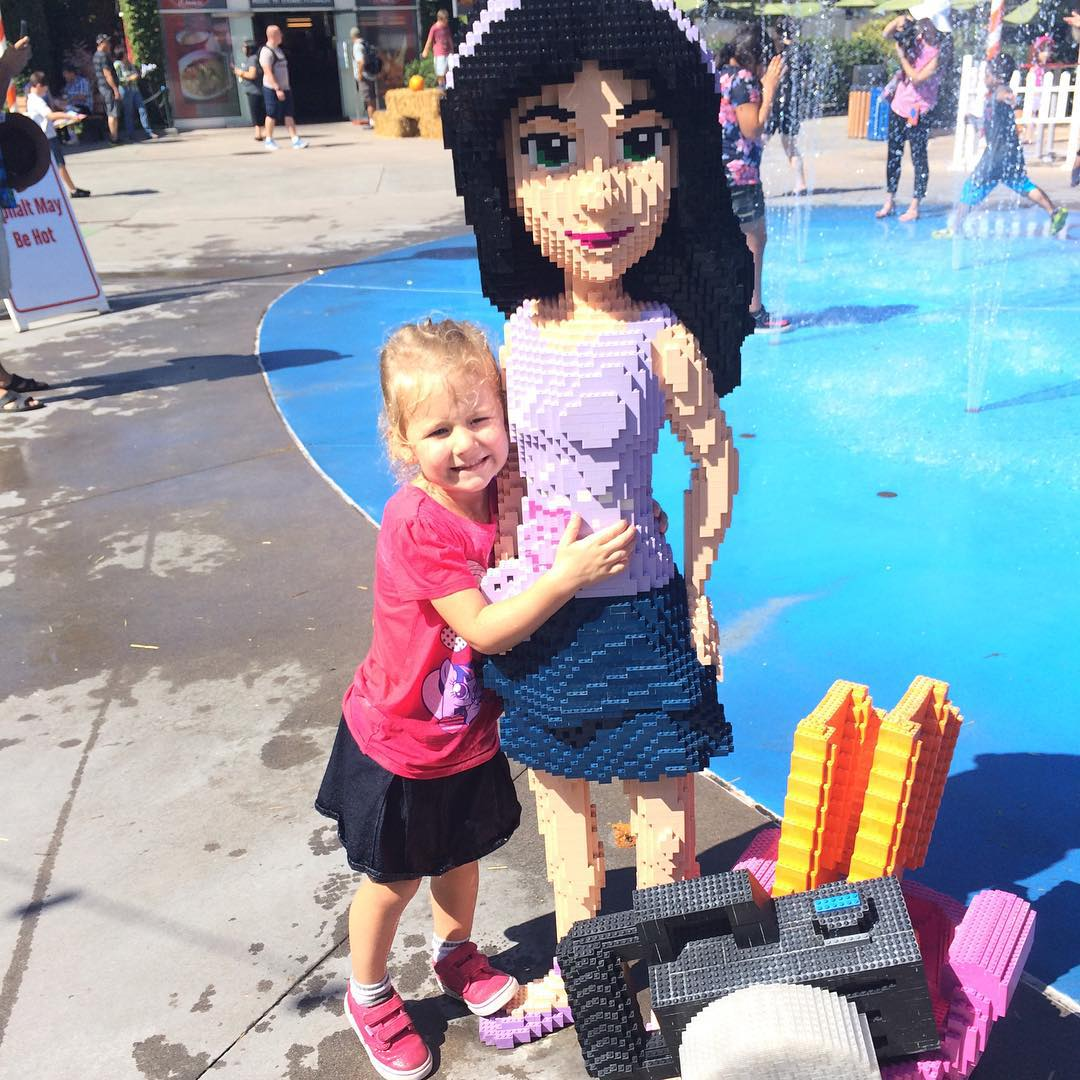 Leah is thrilled with the new Heartlake City at legolandcaliforniahellip