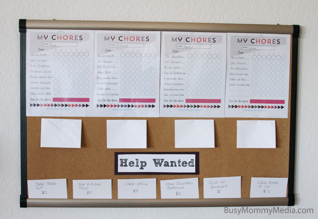 Get Your Kids Excited About Chores With A Help Wanted Board