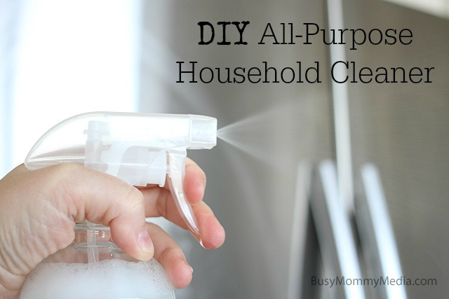 DIY Household Cleaner