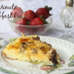 5 minute breakfast pie