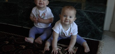 8 month old twins