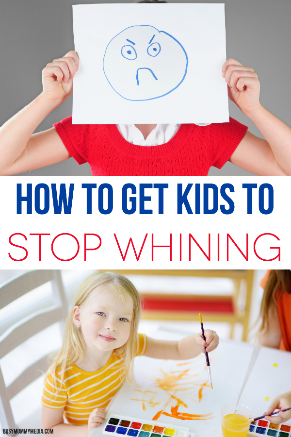 How To Get Kids to Stop Whining