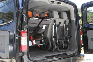 Nissan NV trunk