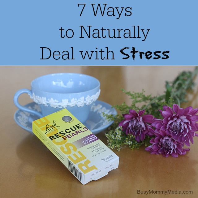 Naturally deal with stress