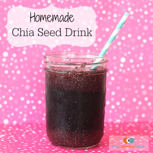 Homemade Chia Seed Drink