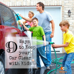 9 Ways to Keep your Car Clean with Kids on BusyMommyMedia.com
