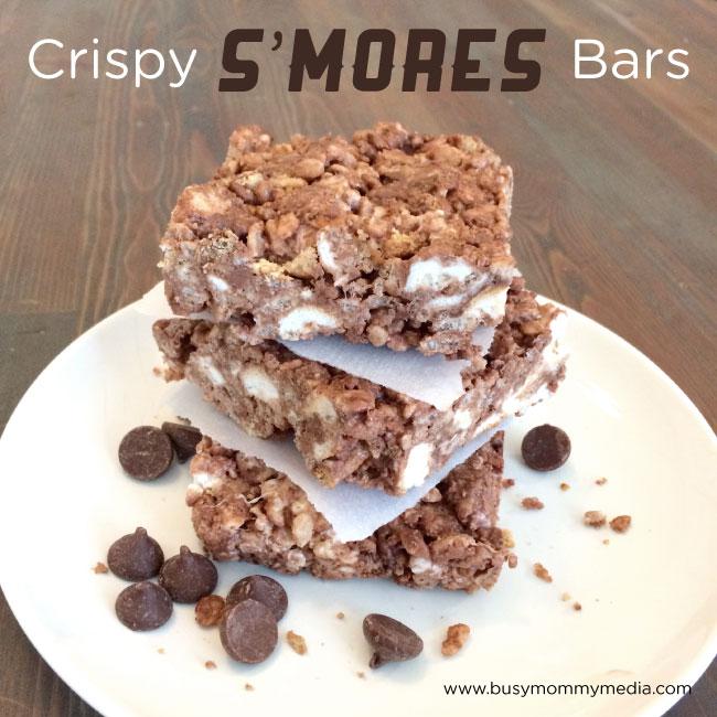 Crispy Smore's Bars