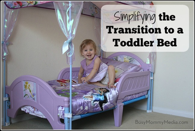 Simplifying The Transition To A Toddler Bed