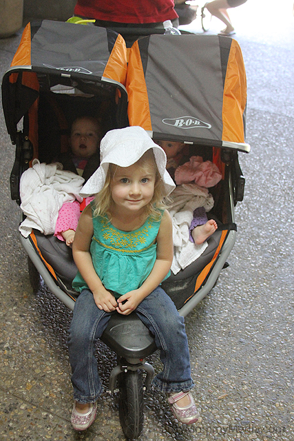 Stroller Options For Twins Plus One