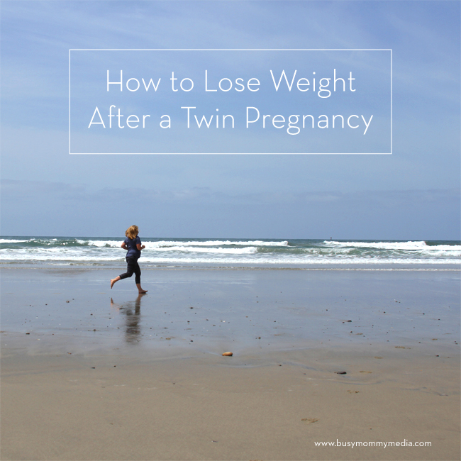 how to lose weight after a twin pregnancy