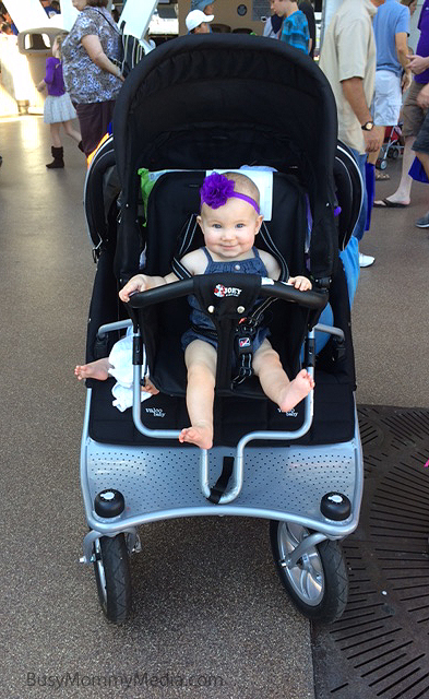 The Valco Tri-Mode with a Joey seat is an awesome triple stroller option.