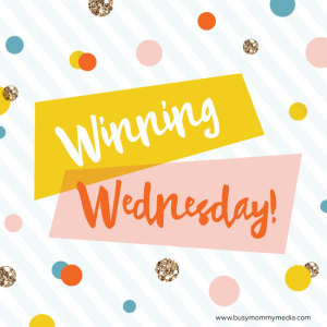 Winning Wednesday: September 16, 2015 (Giveaway Linky)