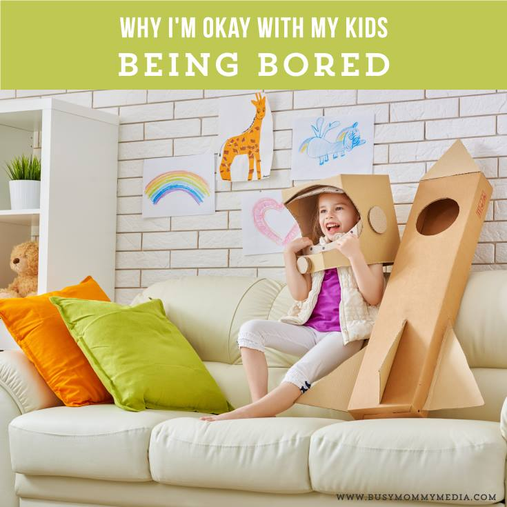 Why I'm Okay with my Kids Being Bored