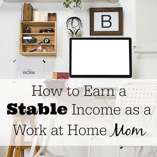 How to create a stable income as a work athellip