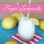 Homemade Frozen Lemonade on BusyMommyMedia.com