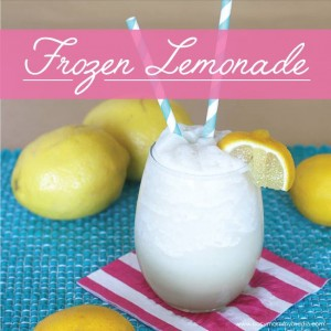Homemade Frozen Lemonade