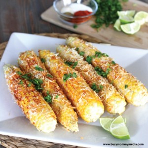 Mexican Street Corn on BusyMommyMedia.com | This corn recipe is so good you'll never want to eat it any other way!