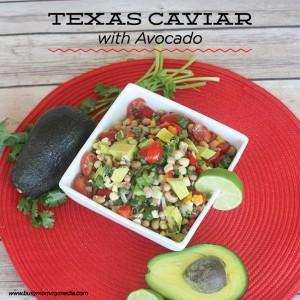 Texas Caviar with Avocado