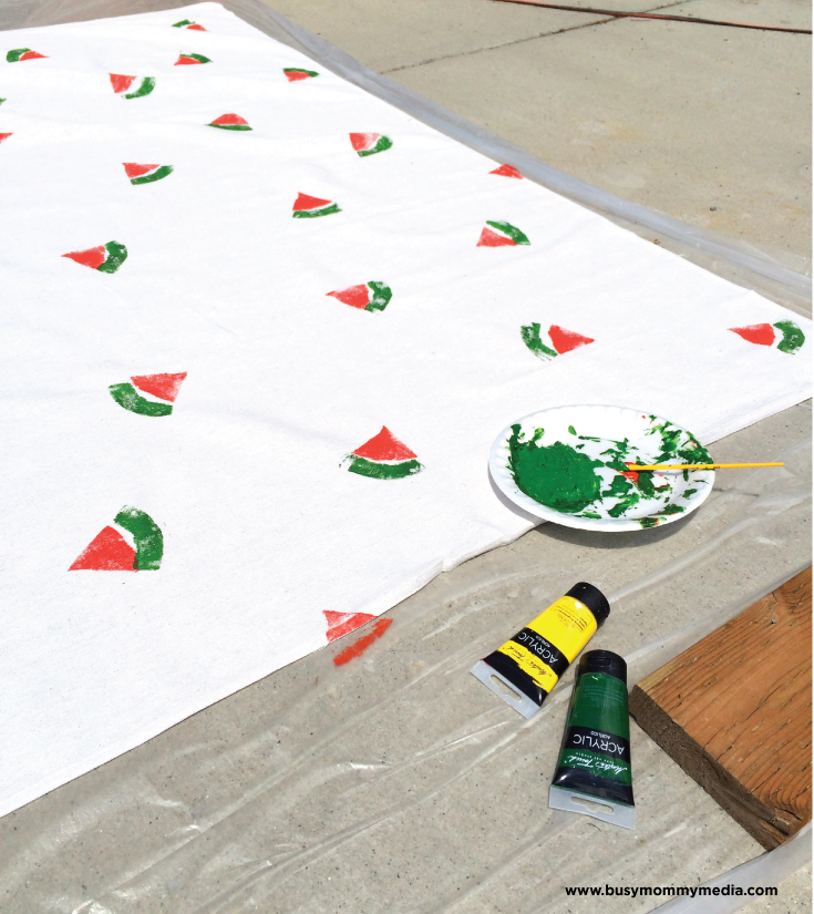 watermelon-table-cloth-process