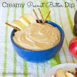 Creamy Peanut Butter Dip on BusyMommyMedia.com