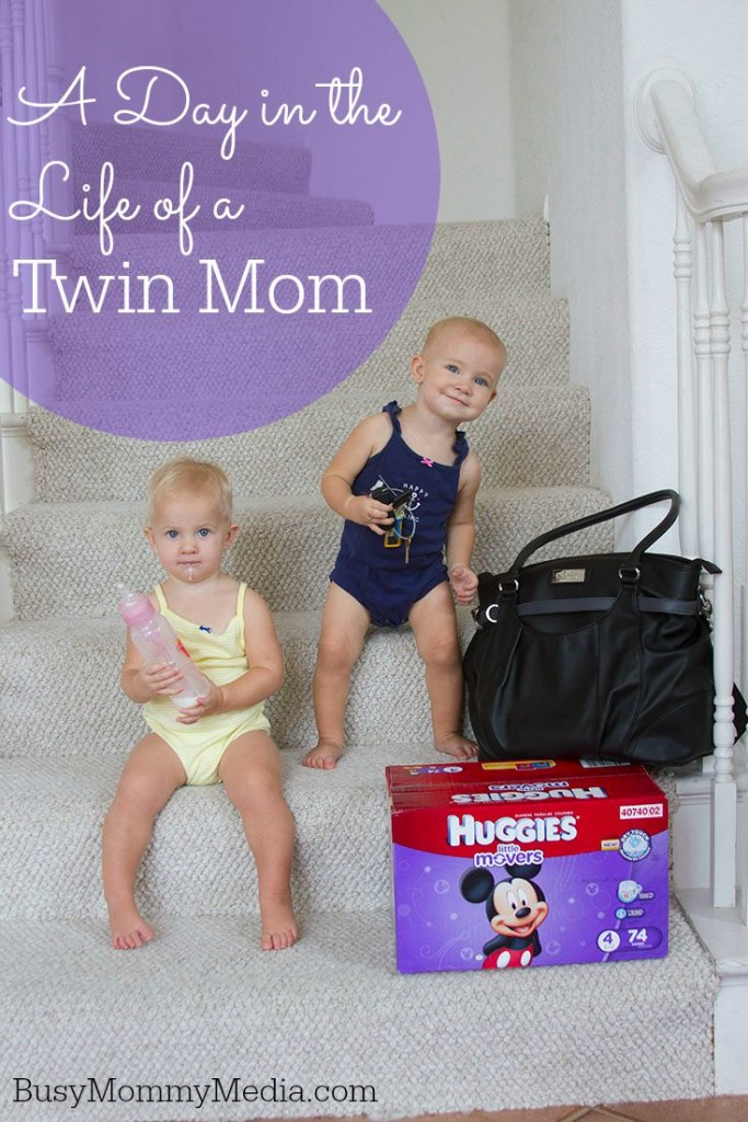 A Day in the Life of a Twin Mom on BusyMommyMedia.com