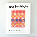 Wavy Paper Weaving Craft for Kids on BusyMommyMedia.com