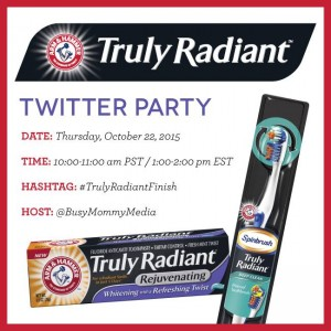 RSVP for the #TrulyRadiantFinish Twitter Party