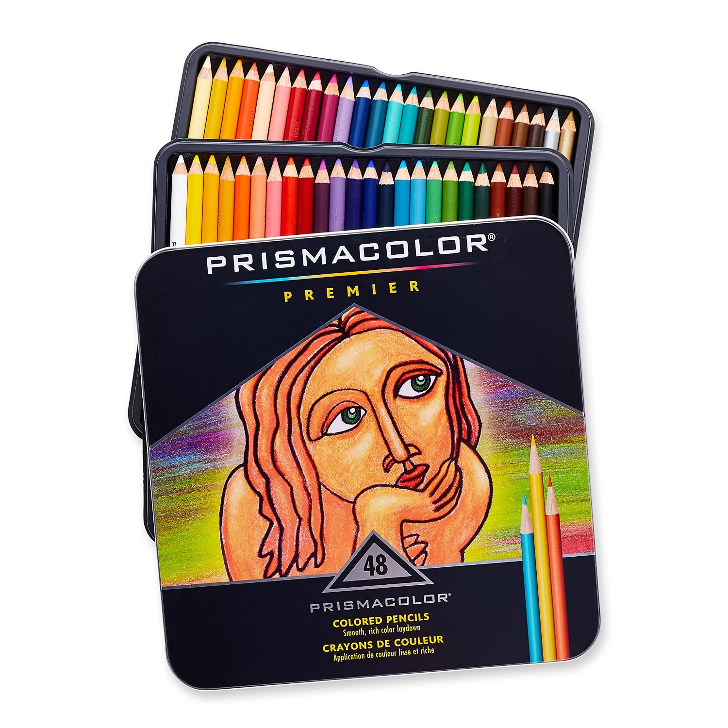 Prismacolor colored pencils are our favorites for young artiists