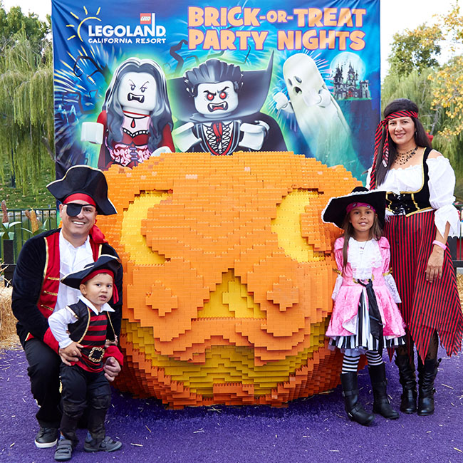 Legoland Brick or Treat Party Nights