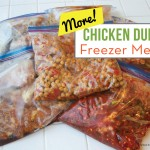 MORE Chicken Dump Freezer Meals - Cook 7 meals in an hour on BusyMommyMedia.com