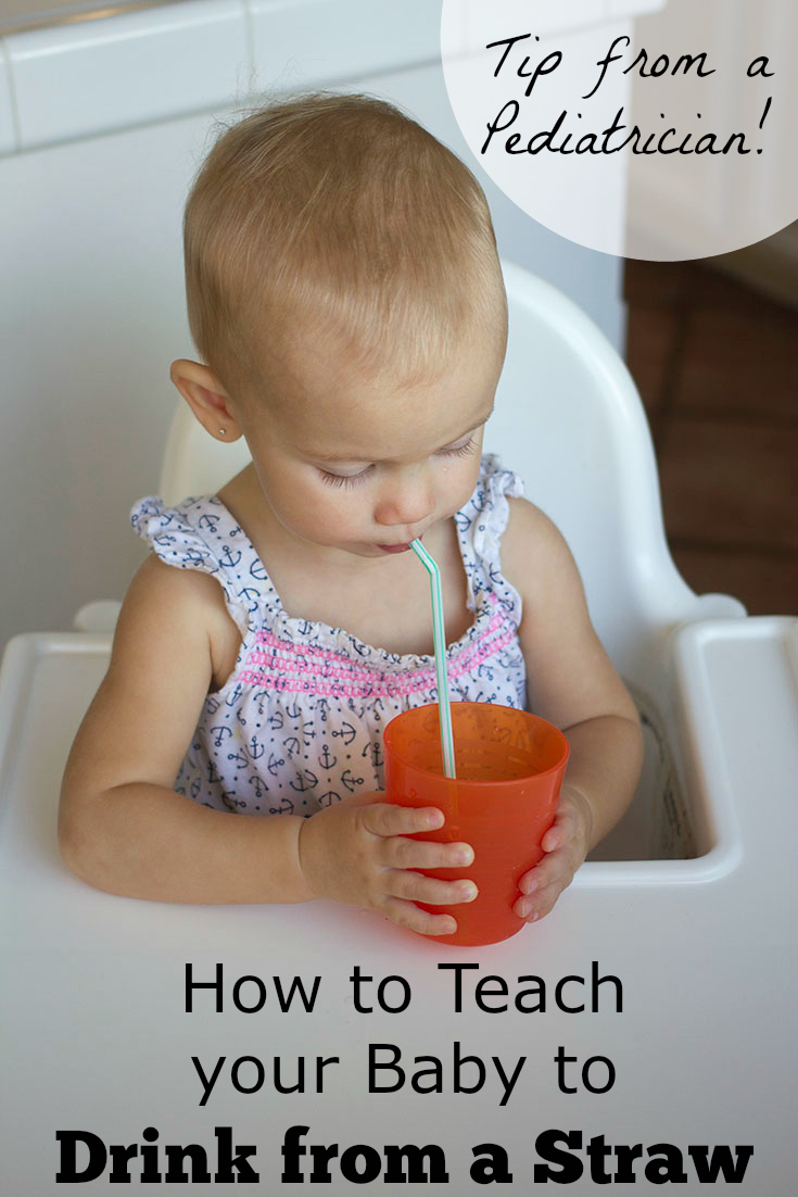 Teach Baby To Drink With Straw