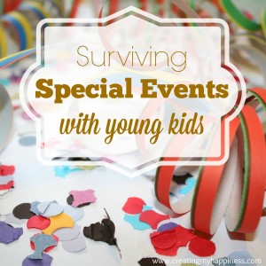 Surviving Special Events with Young Kids