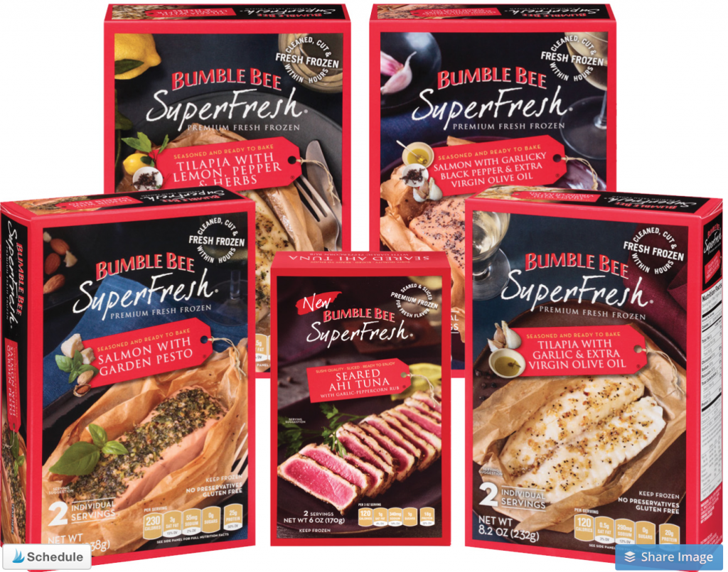 Bumble Bee SuperFresh® seafood