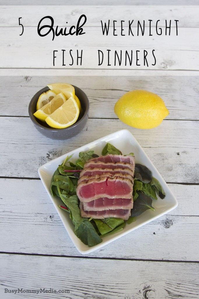 5 Quick Weeknight Fish Dinners