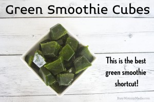 Green Smoothie Cubes