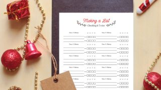 Free Printable Christmas Card Address List