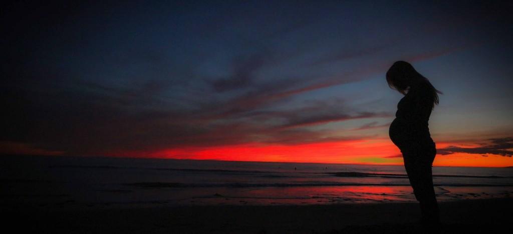 pregnant_sunset