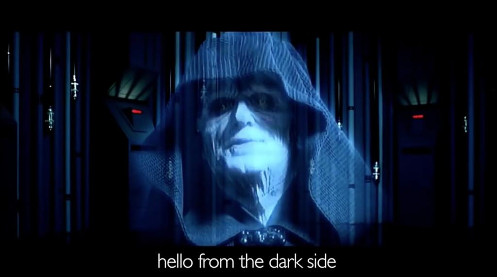 Star Wars Adele parody video