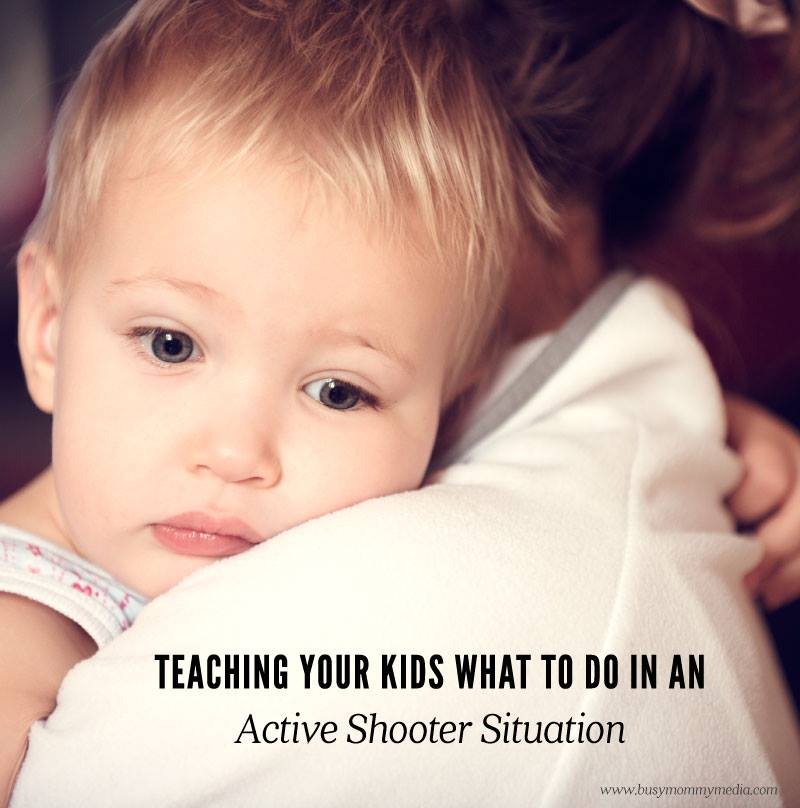 Teaching your kids what to do in an active shooter situation