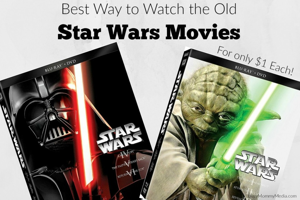 Best Way to Rent the Old Star Wars movies