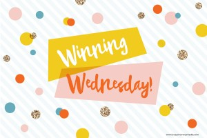Winning Wednesday Giveaway Link Party