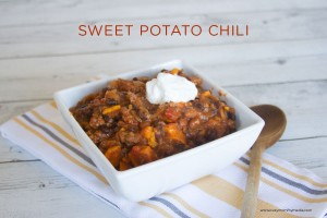 Sweet Potato Chili (with an unexpected ingredient!)