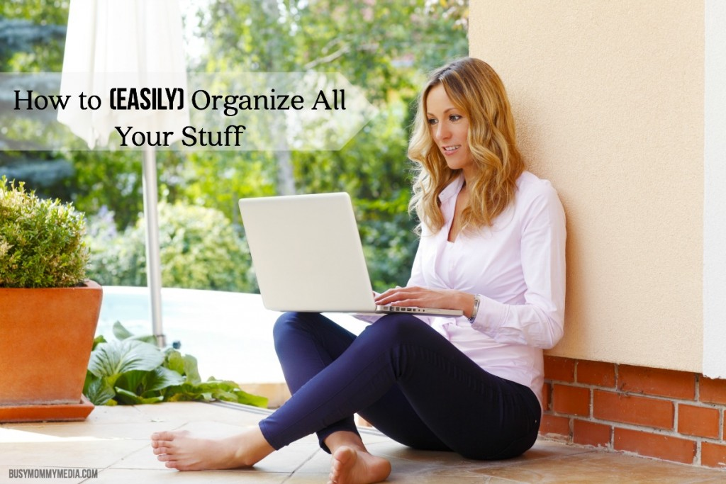 How to (Easily) Organize All Your Stuff | I had no idea you could even do this! What a cool way to get organized!