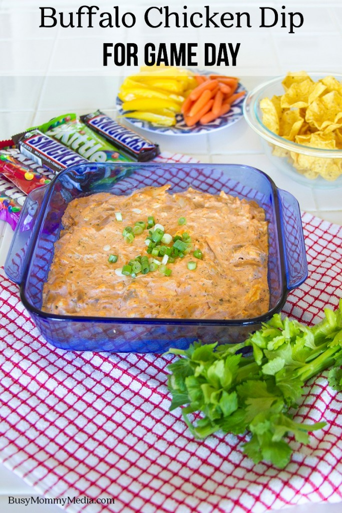Buffalo Chicken Dip for Game Day