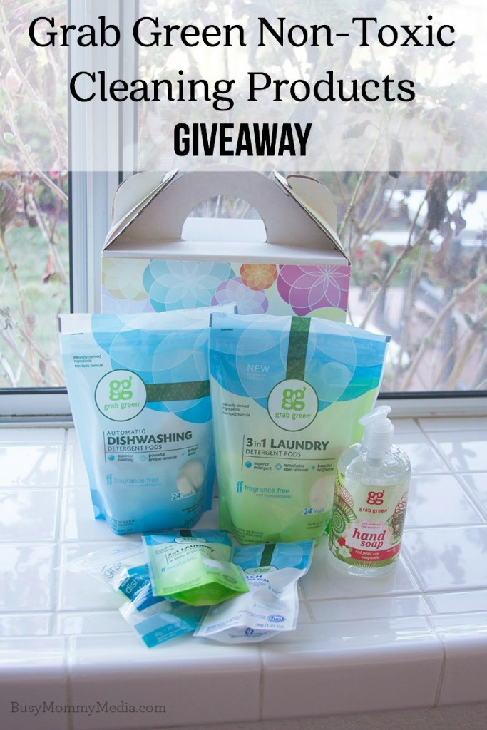 Green cleaning giveaway from Green Grab