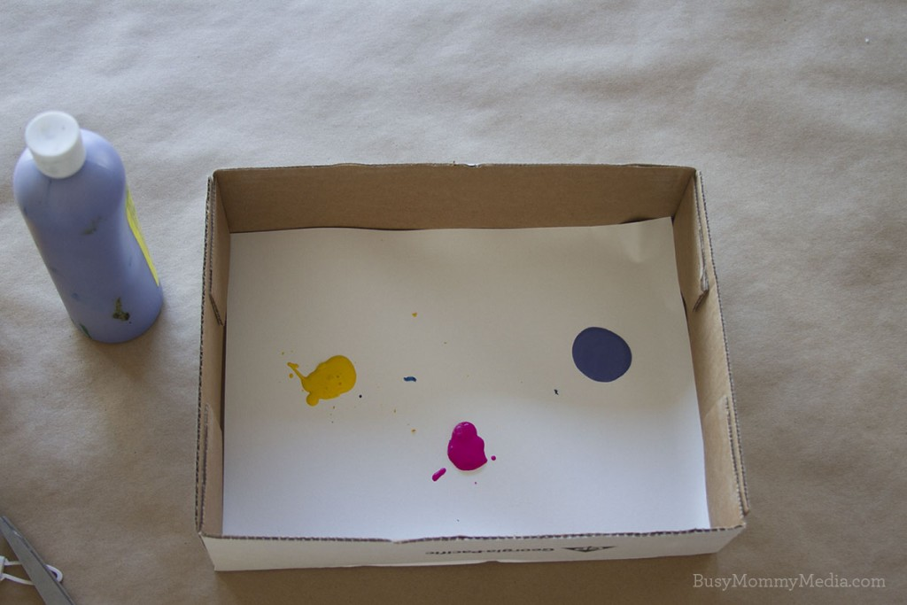 Marble Painting! | This is such a fun art activity for preschoolers!