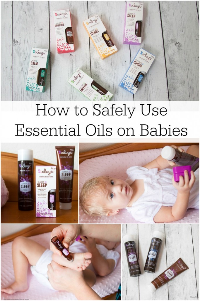 How to Safely Use Essential Oils on Babies | This is a must-read before you use essential oils on your baby!