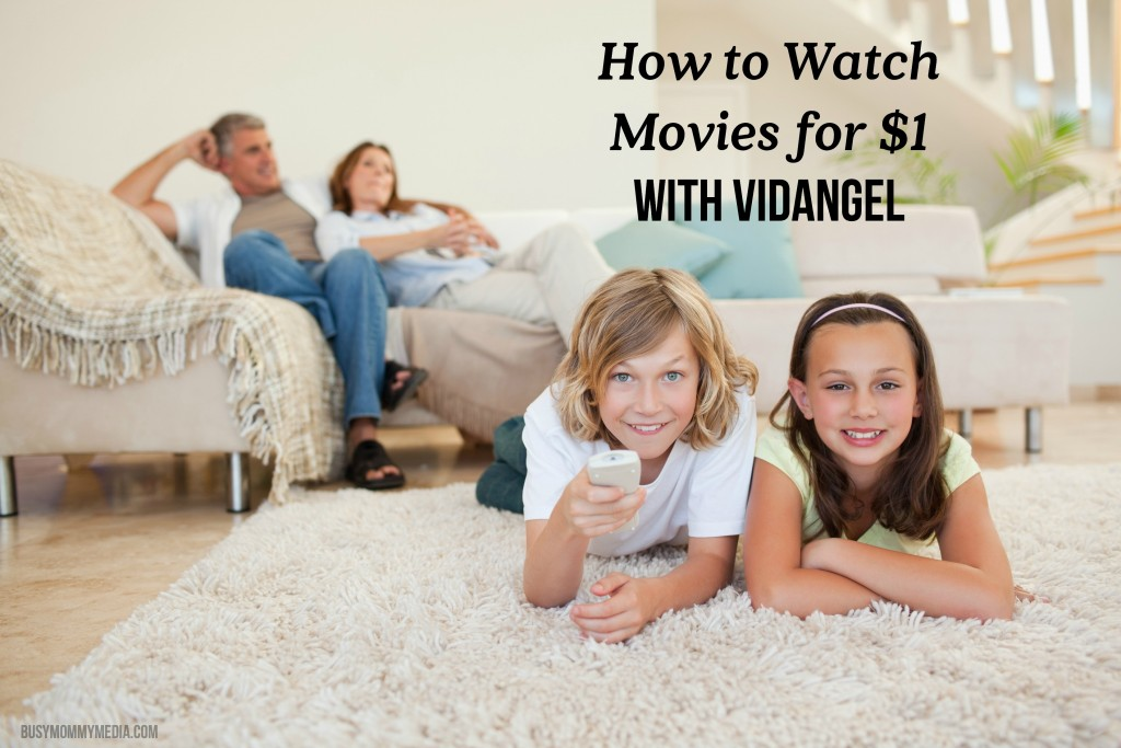 How to Watch Movies for $1 with VidAngel