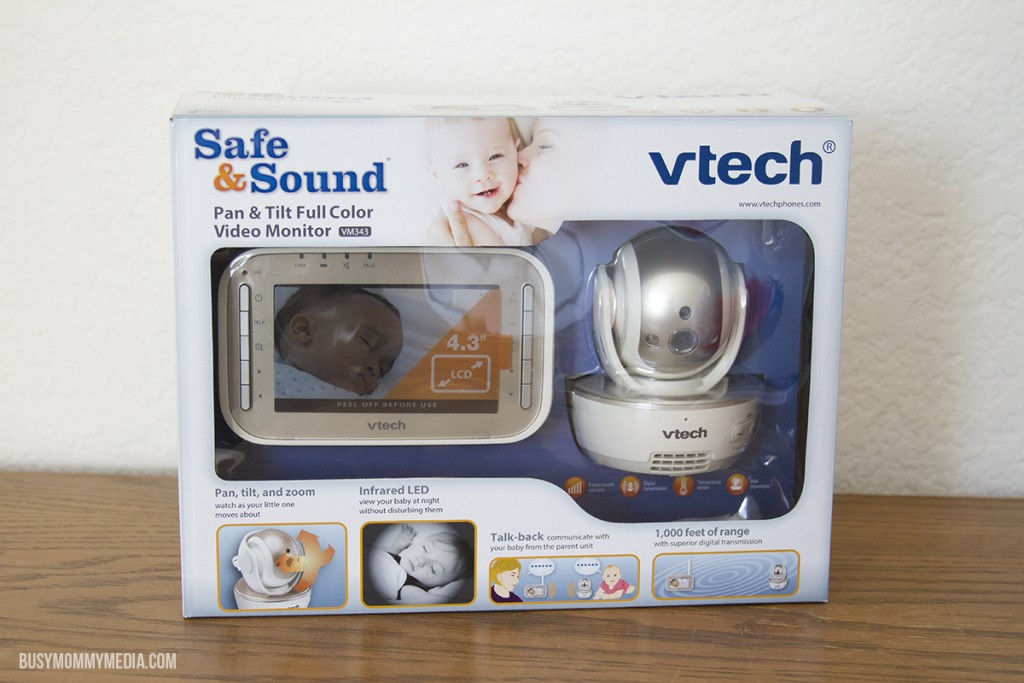 VTech's Safe&Sound® VM343 Expandable Digital Video Baby Monitor
